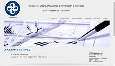 Site internet de Synalp Conseil