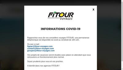 Site internet de Fitour