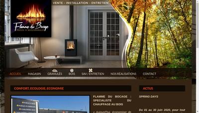 Site internet de Flamme du Bocage