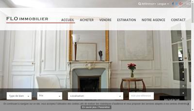 Site internet de Flo Immobilier