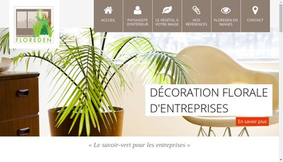 Site internet de Floreden