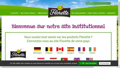 Site internet de Florette Saint-Pol