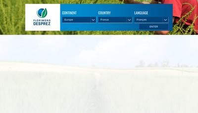 Site internet de Societe Florimond Desprez Veuve et Fils