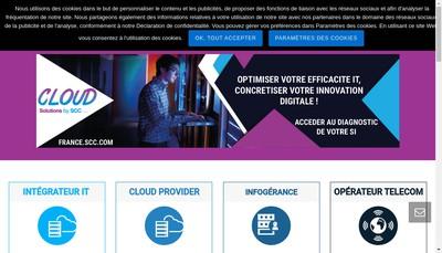 Site internet de Flow Line Technologies