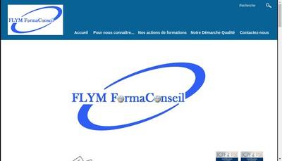 Site internet de Flym Formaconseil