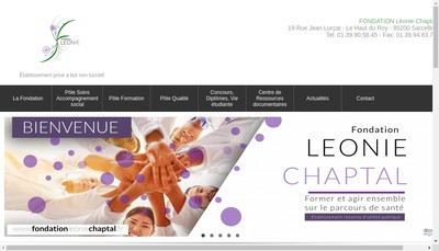 Site internet de Fondation Leonie Chaptal