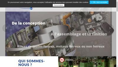 Site internet de Fondex