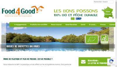 Site internet de Food4Good