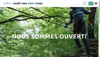 Site internet de La Foret des Vert'Tiges