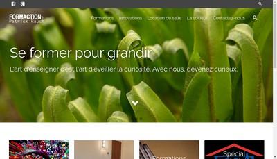 Site internet de SARL Formaction