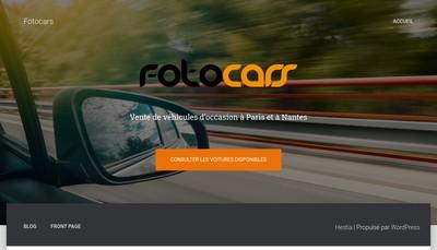 Site internet de Fotocars Paris