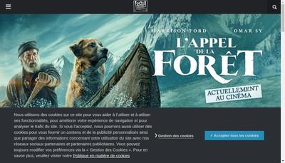 Site internet de Fox Pathe Europa