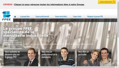 Site internet de Fpee Industries