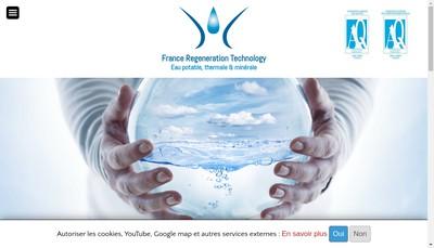 Site internet de France Regeneration Technology