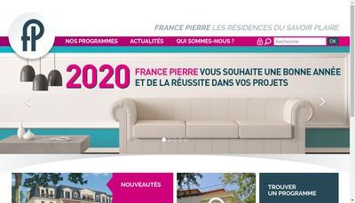Site internet de France Pierre 2