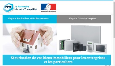 Site internet de France Telesurveillance
