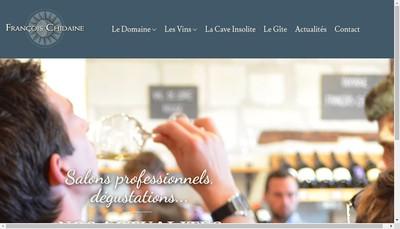 Site internet de Francois Chidaine