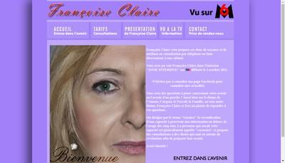Site internet de Claire Voyance