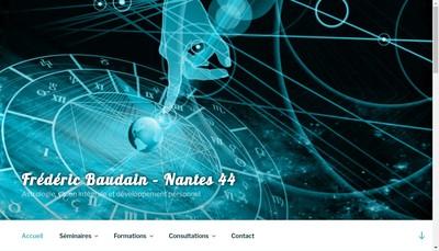 Site internet de Frederic Baudain