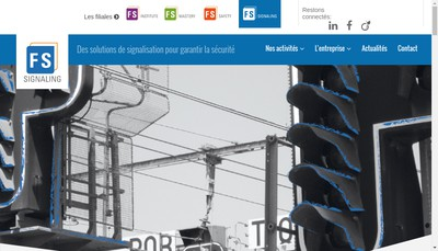 Site internet de Fs Signaling