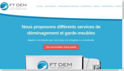 Site internet de Ftdem
