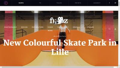 Site internet de Fubiz
