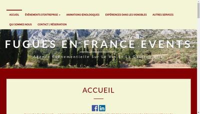 Site internet de Fugues en France