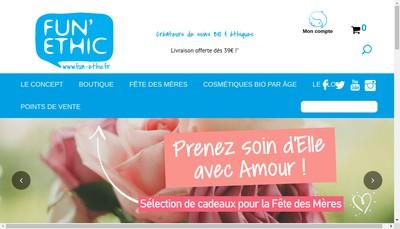 Site internet de Fun'Ethic