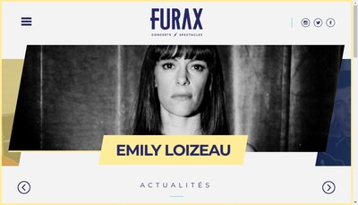 Site internet de Furax