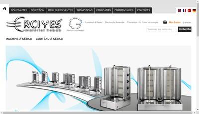 Site internet de G3 Resto-Equipement