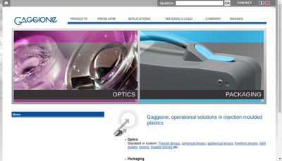 Site internet de Gaggione