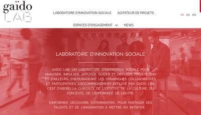 Site internet de Gaido Lab