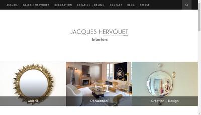 Site internet de Jacques Hervouet Interiors