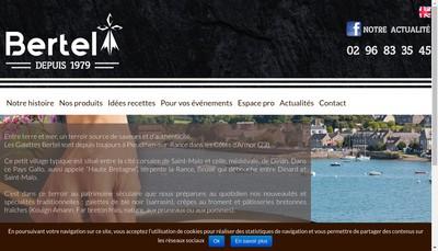 Site internet de Bertel'Galett