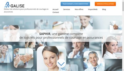 Site internet de Galise