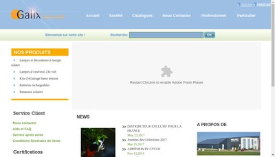 Site internet de Galix