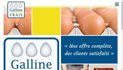 Site internet de Galline Frais