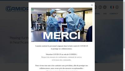 Site internet de Gamida SA