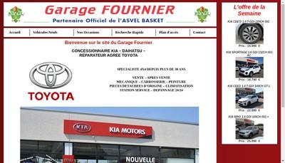 Site internet de Garage Fournier
