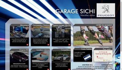 Site internet de SARL Garage Sichi