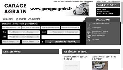 Site internet de Garage Agrain