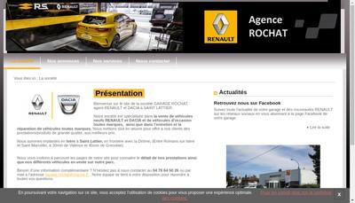 Site internet de Garage Rochat