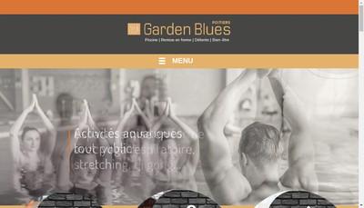 Site internet de Garden Blues