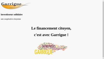 Site internet de Garrigue