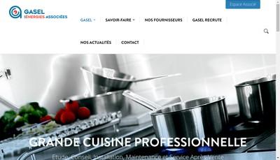 Site internet de Gasel Gasel Services Grands Comptes Nationaux