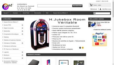 Site internet de Gat Micro