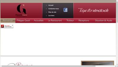 Site internet de Philippe Gault Traiteur