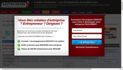 Site internet de gautier-girard.com