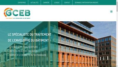 Site internet de Gceb