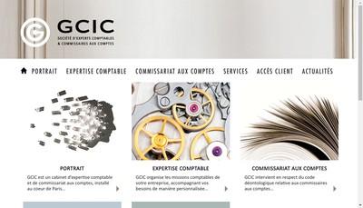 Site internet de Gcic Gestion Comptable Industrie Commerc